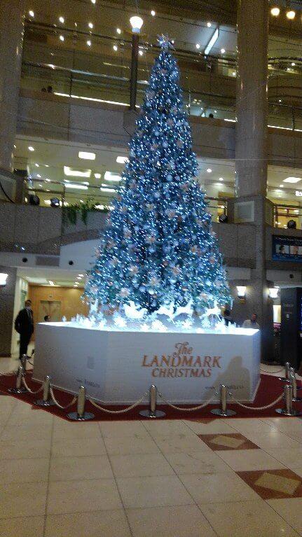 ランドマークのツリー